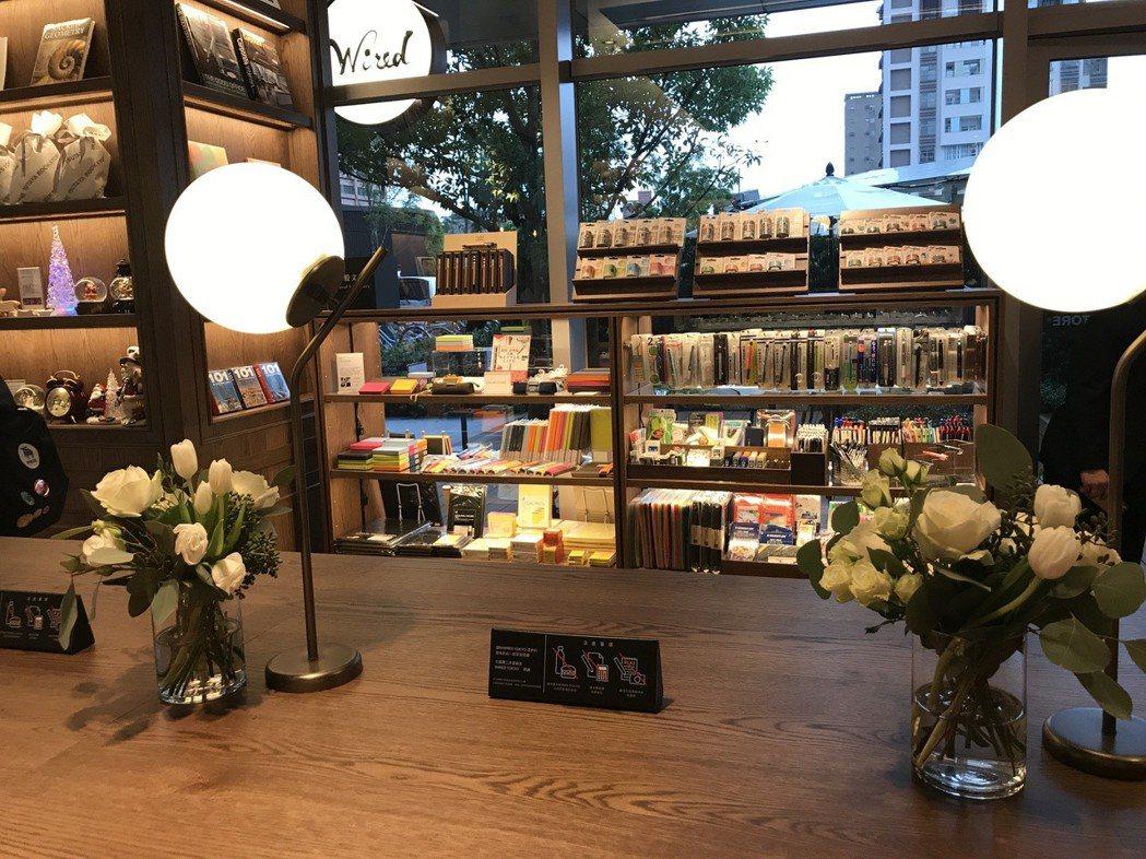 店內有舒適的閱讀區。