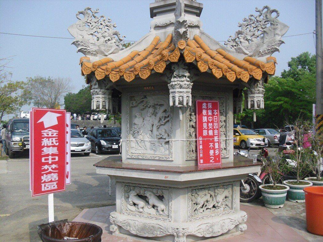 台南市納骨塔封爐,推動以功代金。 圖/報系資料照片