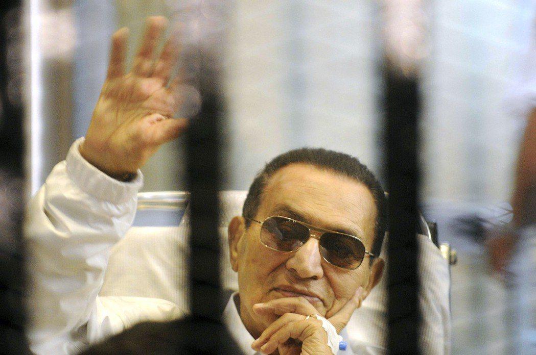 穆巴拉克今年3月獲釋。 美聯社