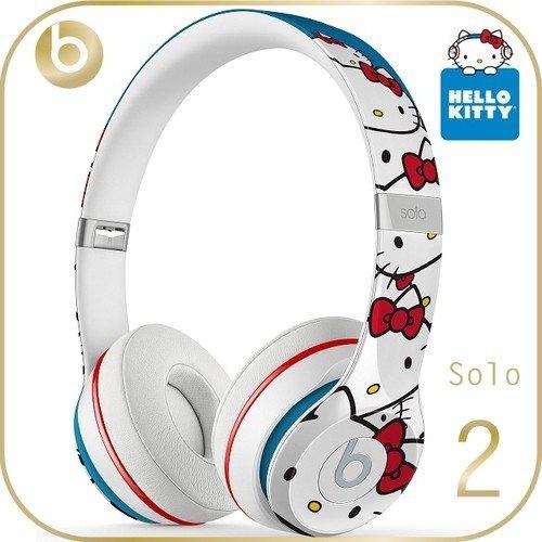 【Beats】Solo 2 Hello Kitty 40週年特別限量版 耳罩式耳...