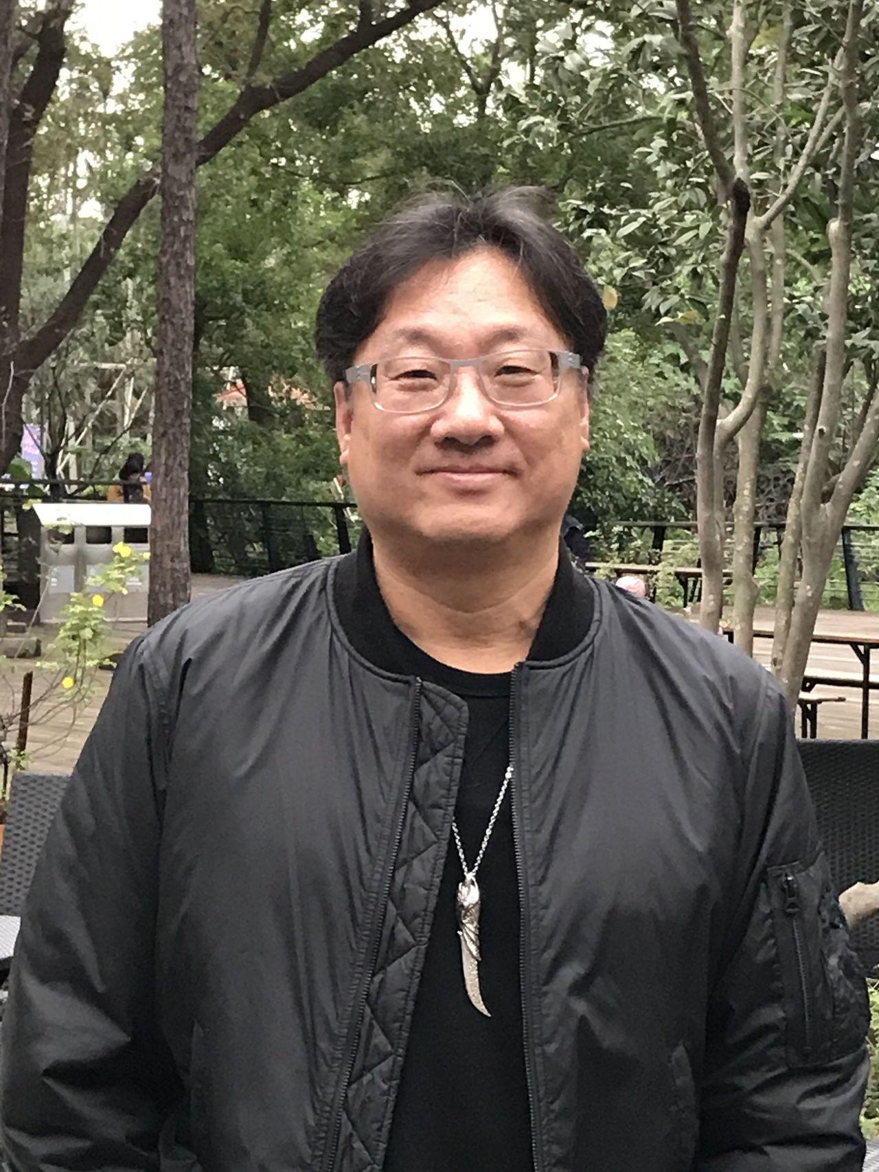 鑫盛董事長羅法平。記者黃冠穎/攝影