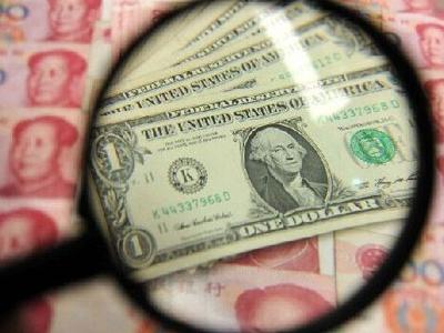 人民幣中間價 創一個半月以來最強