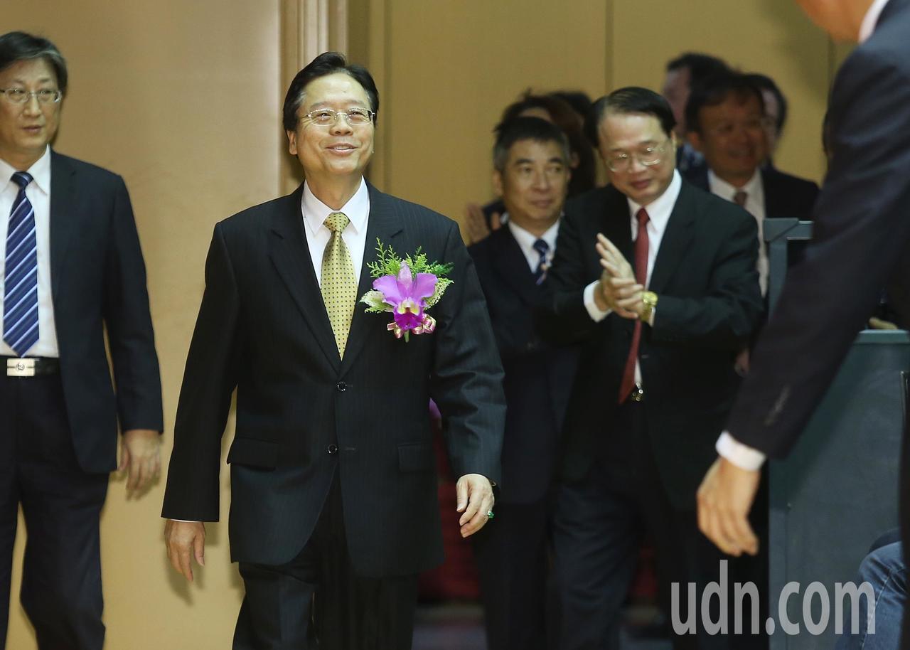 雷仲達接任合作金庫董事長。記者楊萬雲/攝影