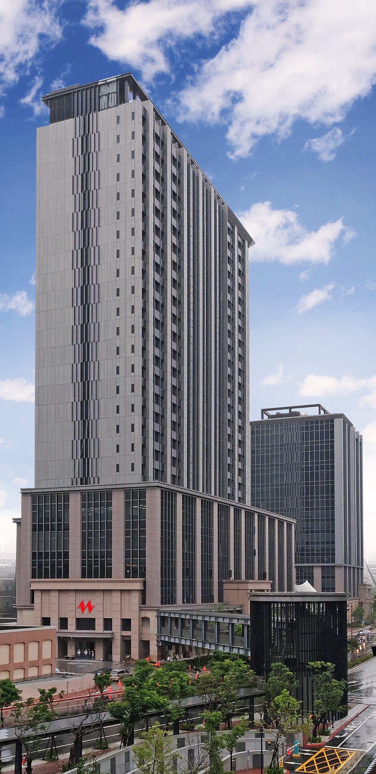 凱達大飯店共有745間房。圖/凱達大飯店提供