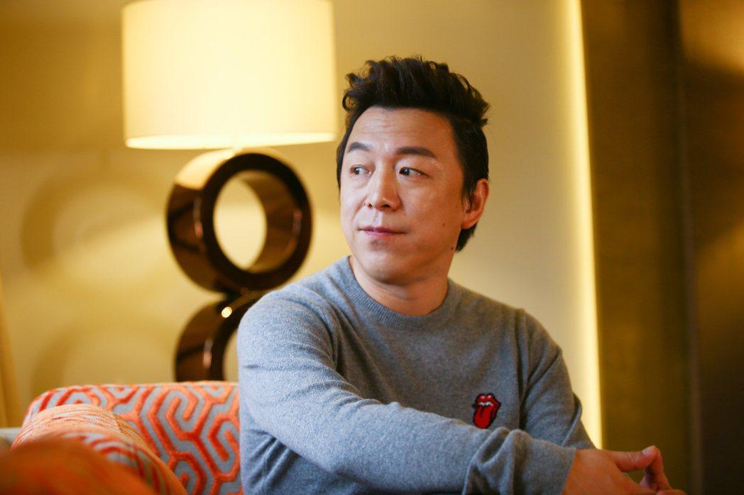 黃渤再度入圍金馬獎最佳男主角獎。記者王騰毅/攝影