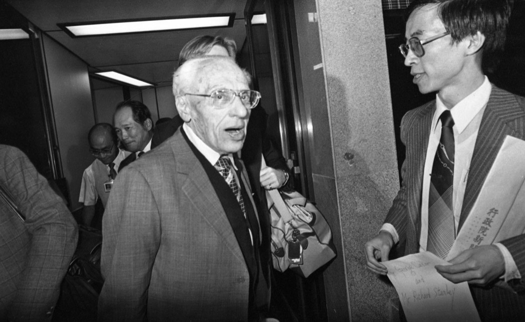 美國巨導喬治庫克來台參加金馬獎頒獎,有心分享經驗的講座活動卻反應冷淡。圖/報系資