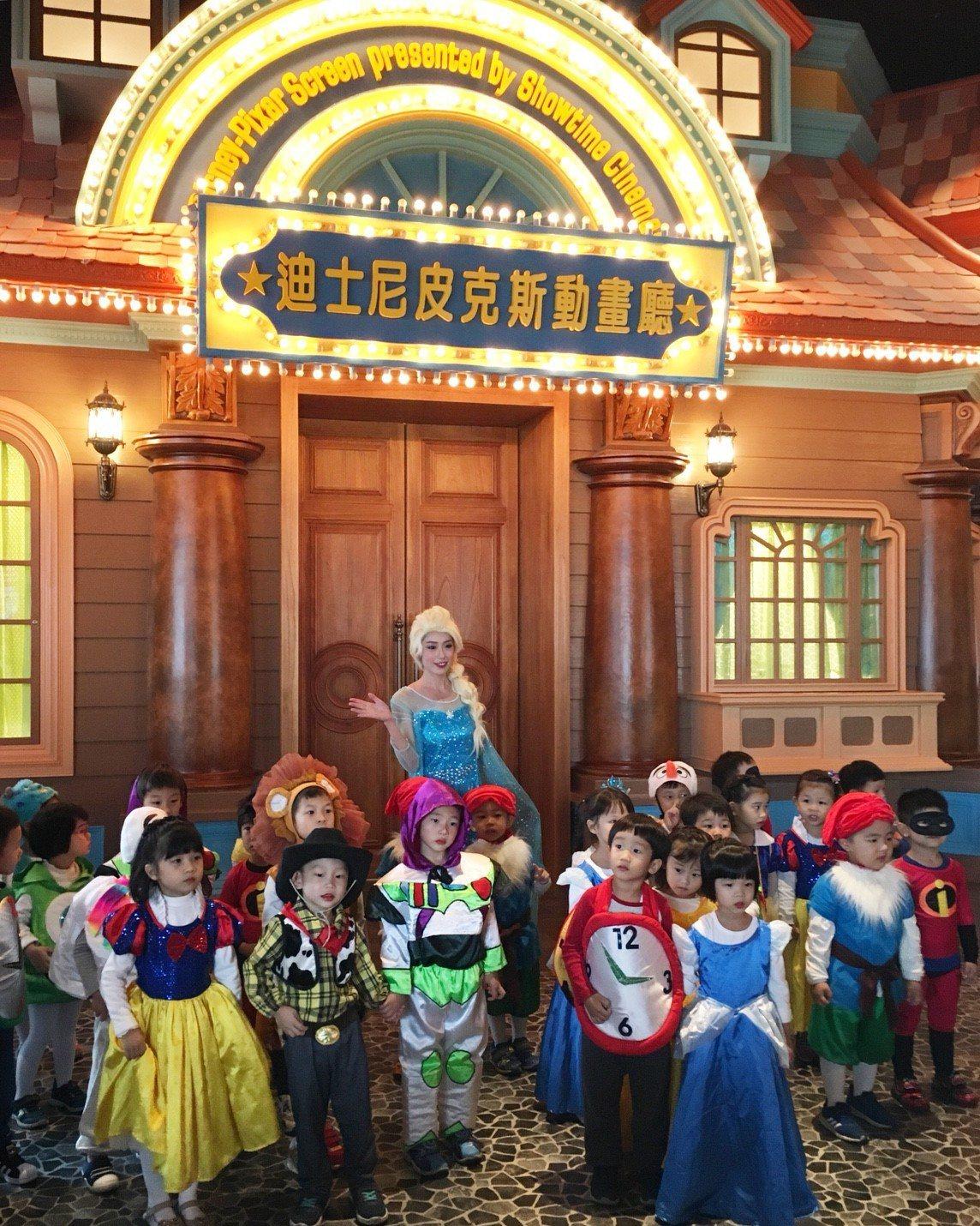秀泰「迪士尼皮克斯動畫廳」不但處處都是迪士尼造景,在夢幻氣氛下欣賞電影,更是從未...