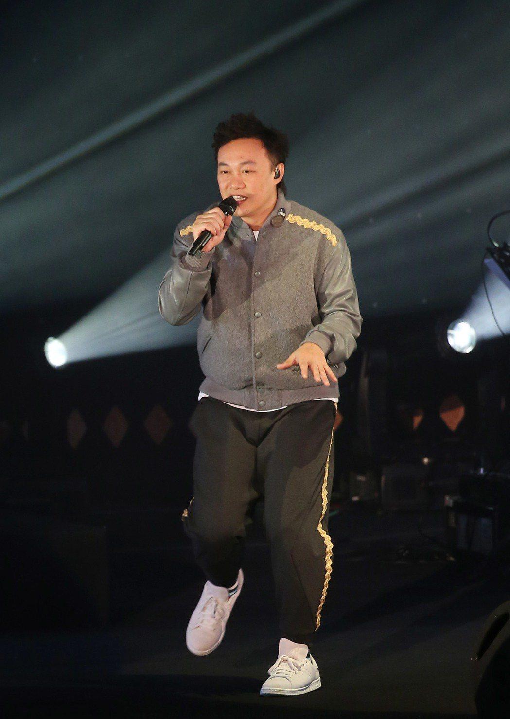 陳奕迅來台舉辦演唱會。記者陳瑞源/攝影