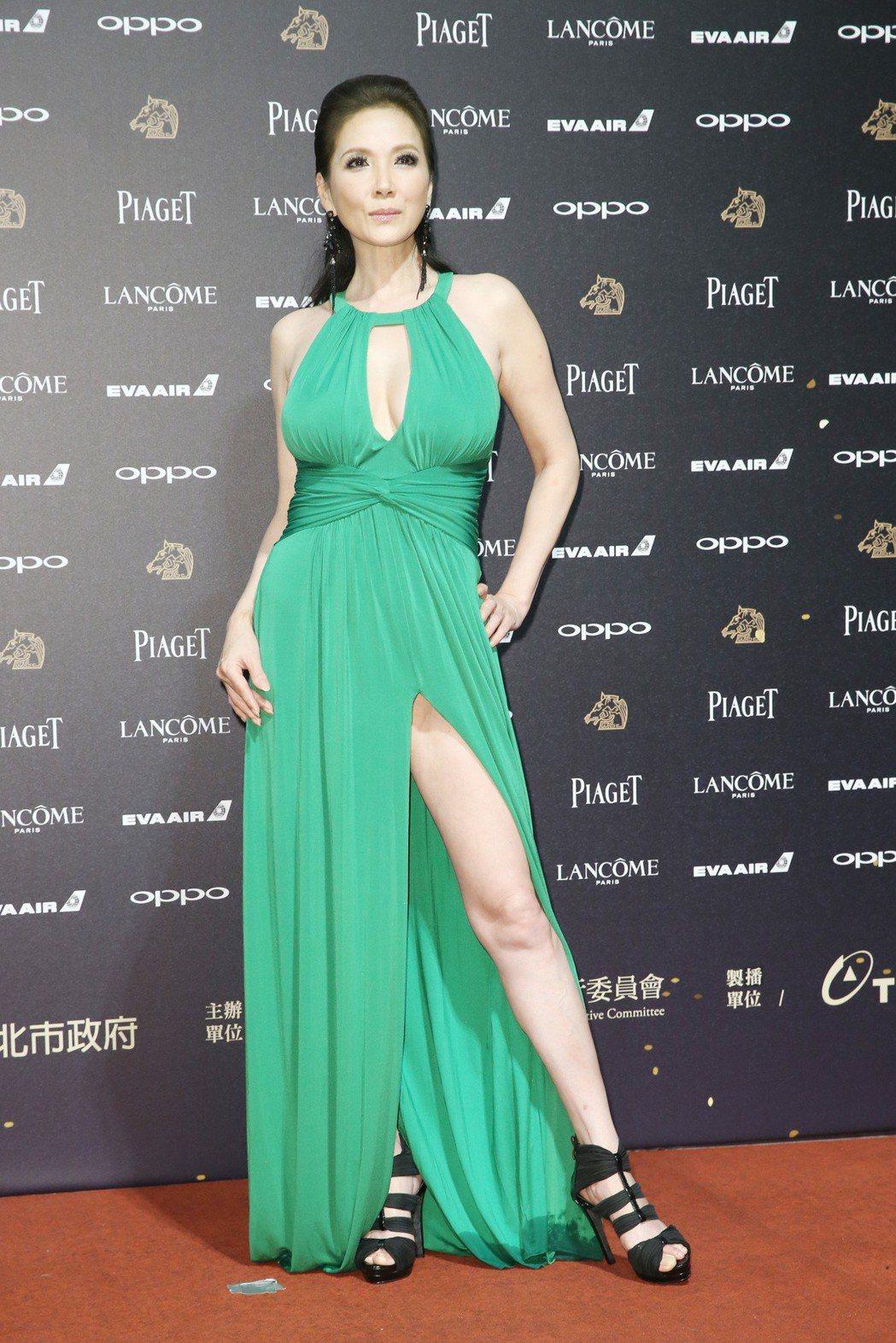 第五十四屆金馬獎,大佛普拉斯演員丁國琳走紅毯。記者林俊良╱攝影