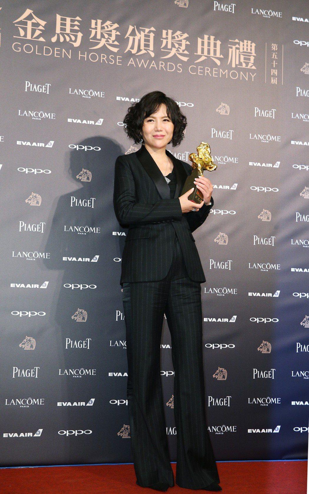 第54屆金馬獎,最佳導演獎由文晏獲得。記者陳正興/攝影