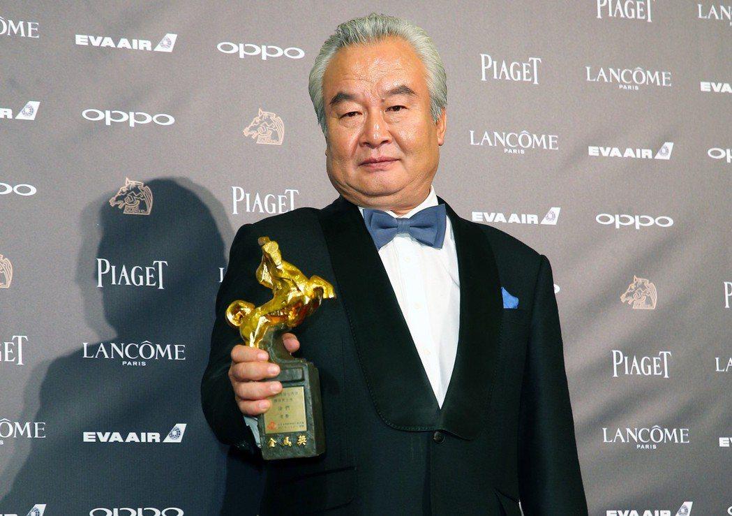 第54屆金馬獎最佳男主角獎由《老獸》涂們獲得。記者陳正興/攝影
