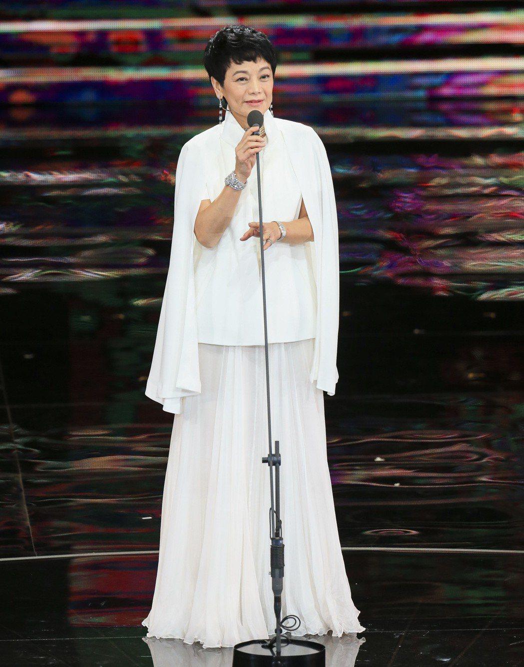 第五十四屆金馬獎,金馬執委會主席張艾嘉。記者陳瑞源/攝影