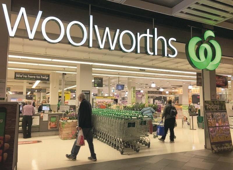 澳洲超市龍頭Woolworths的雪梨門市之一。 路透