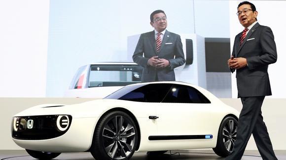 Honda CEO 八鄉隆弘。 摘自日本經濟新聞