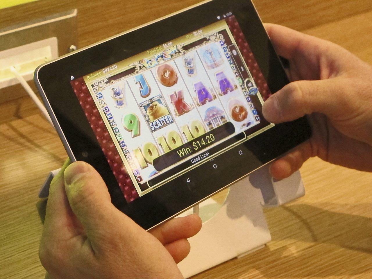 過去美國一些賭場提供虛擬運動賽事賭博,現在可以線上投注。美聯社