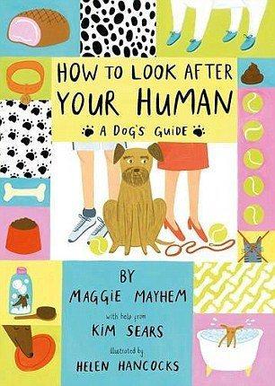 希爾絲為Maggie May執筆寫書,教導其他狗狗如何馴服人類。圖/取材自網路