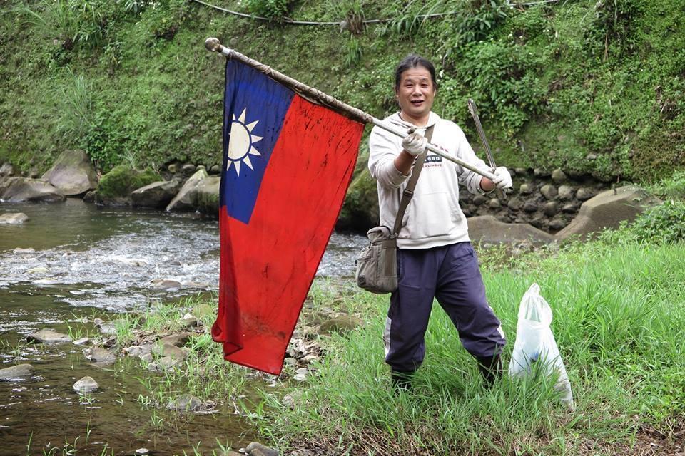 中華民國國旗。圖/陳信助提供