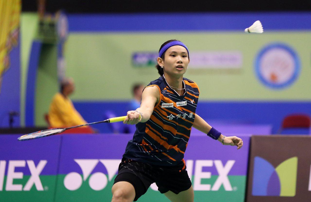 戴資穎在香港羽球公開賽女單4強賽獲勝,率先拿下冠軍戰門票。圖/Badminton...