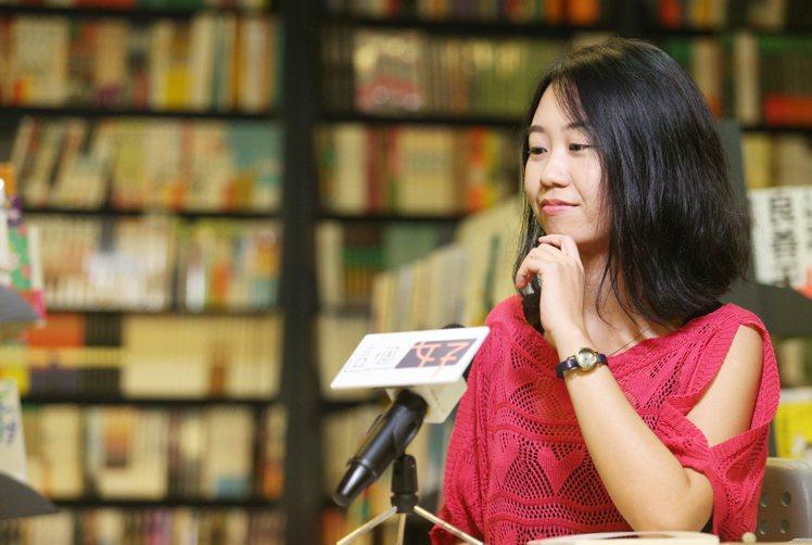 《老妹世代》作者柚子甜。記者陳正興/攝影