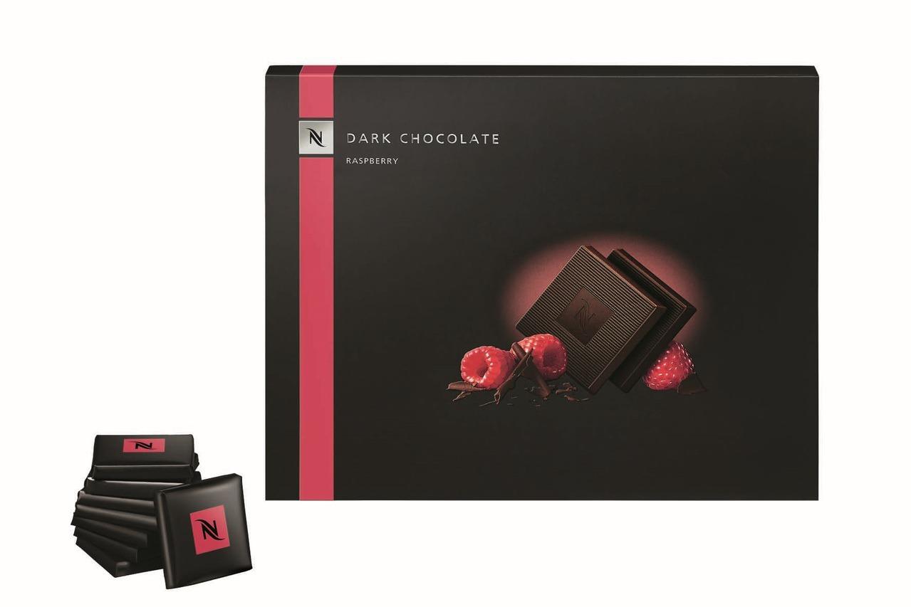 首度登台的限量巧克力,搭配濃醇咖啡正好。圖/Nespresso提供