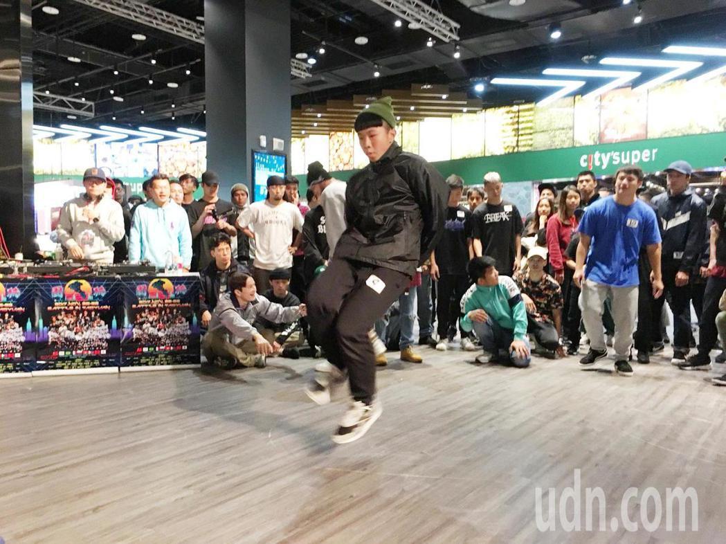 全台最大型BBOY國際尬舞 台灣街舞進軍青年奧運