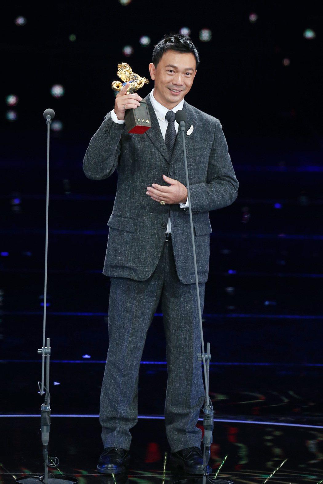 第五十四屆金馬獎,最佳新導演獎由黃信堯獲得。記者陳瑞源/攝影