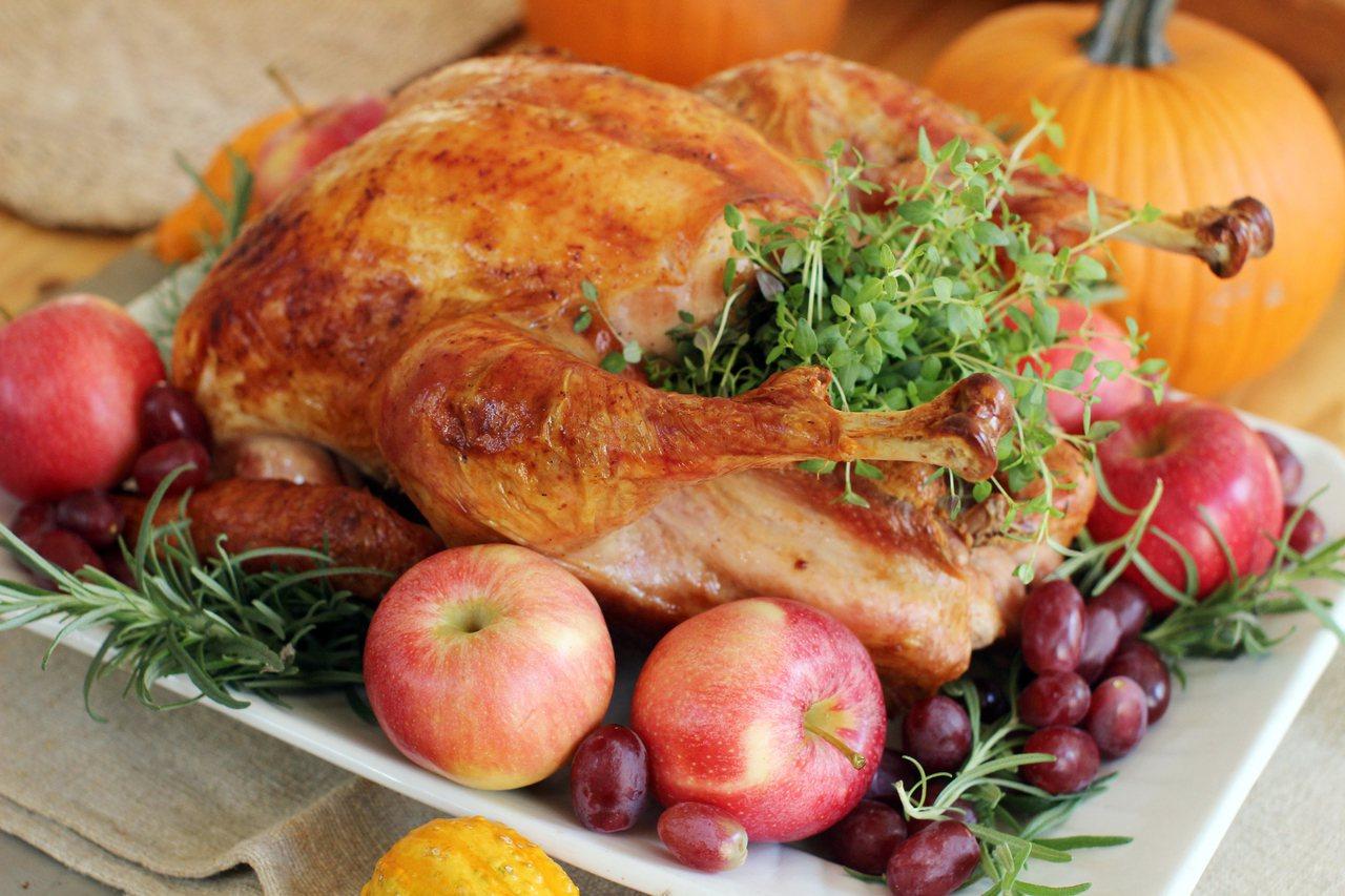 感恩節大餐熱量超高。(圖/美聯社)