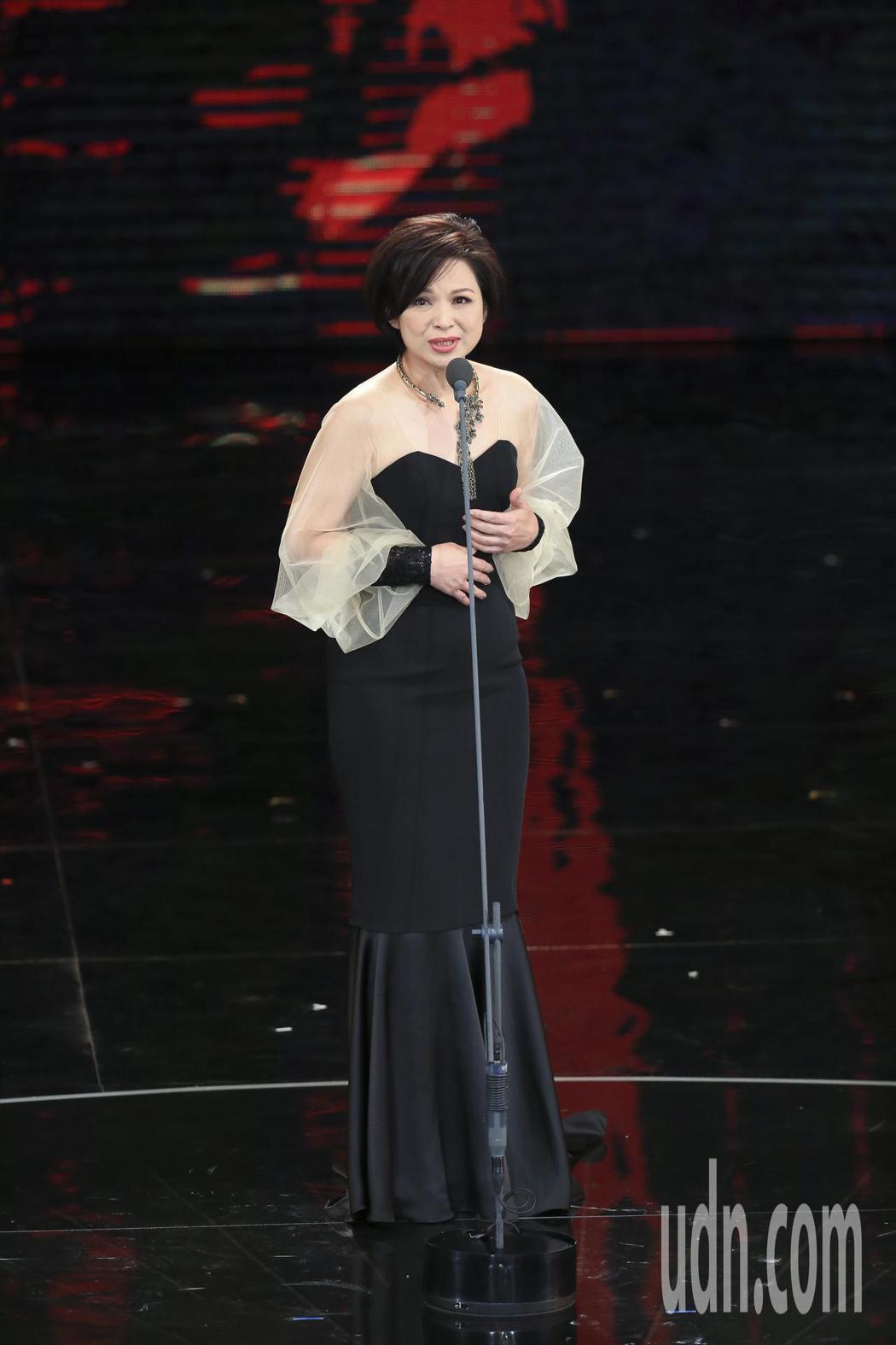 第五十四屆金馬獎頒獎嘉賓楊貴媚。記者陳瑞源/攝影