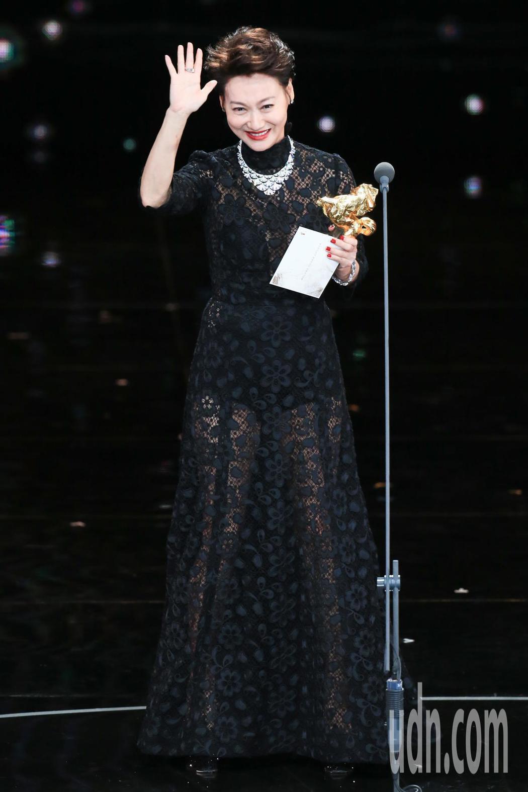 第五十四屆金馬獎,惠英紅獲最佳女主角獎。記者陳瑞源/攝影