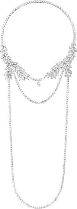秦海璐配戴 Extremely Piaget 系列高級珠寶項鍊,2,490萬元。...