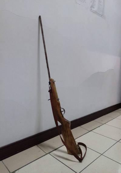 新竹縣竹東鎮14歲王姓原住民少年被獵槍擊中身亡。 圖/警方提供