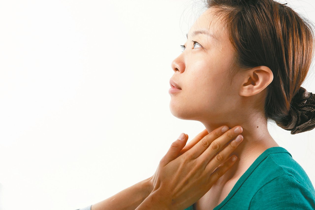 據統計,近一半的成年人都有甲狀腺結節。 報系資料照