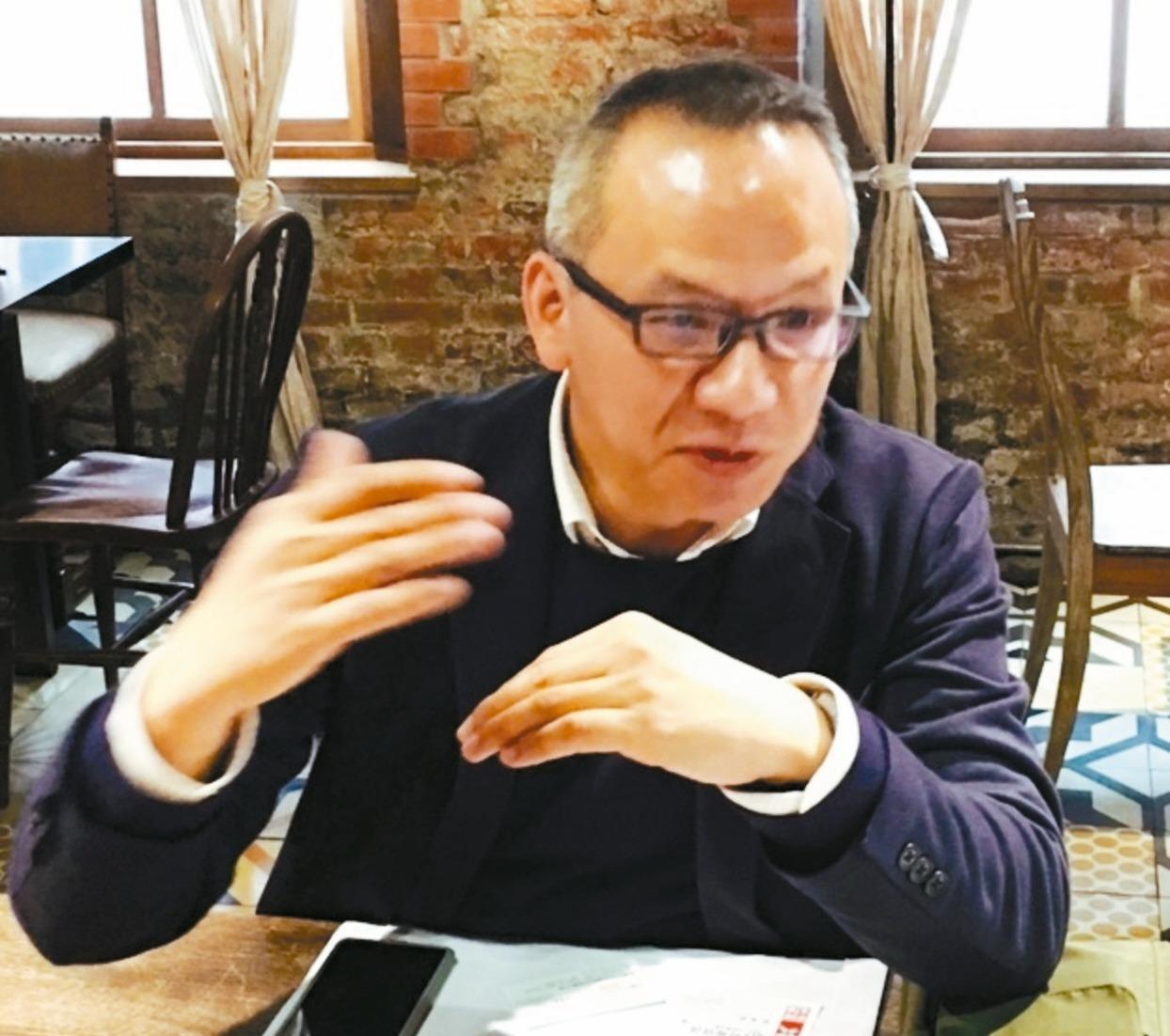 台灣精星總經理張振紘。 記者尹慧中/攝影