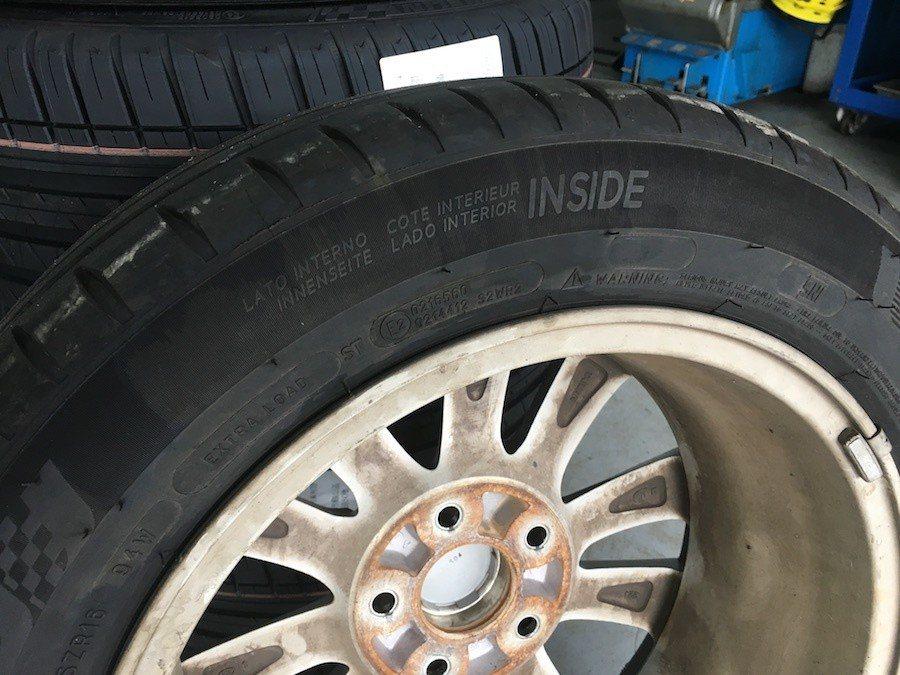 不要以為內外機件保養就好,輪胎才是安全根本。 攝影 / 彭奕翔