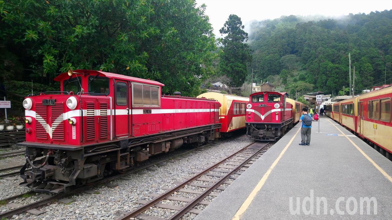 因多數人不知道森鐵假日加班車,乘客不多。記者卜敏正/攝影