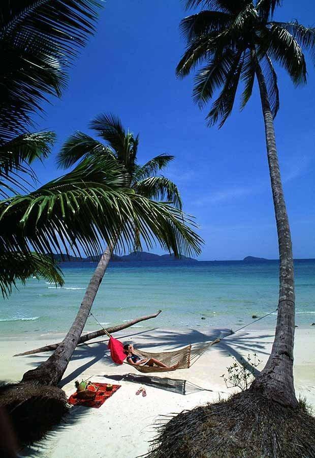 德樂府優美的海域、沙灘和豔陽。圖/泰國觀光局提供