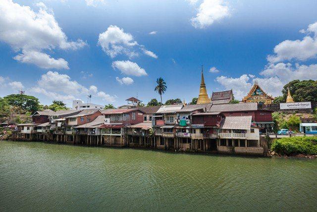 沾他汶里府河濱社區。圖/泰國觀光局提供