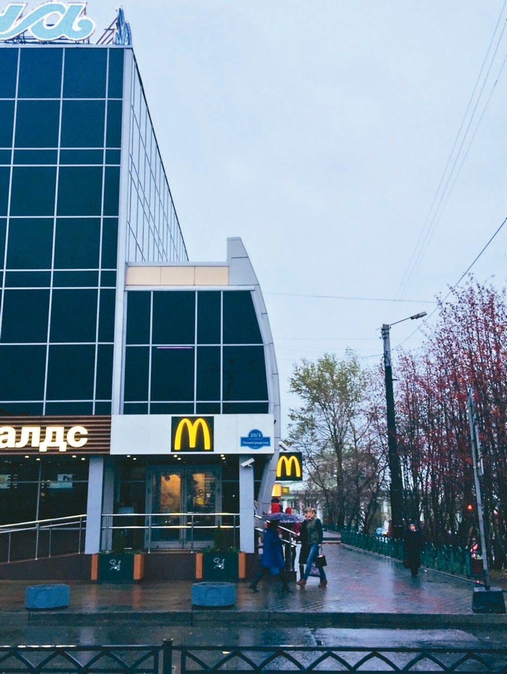 全世界最「靠北」的麥當勞。 記者錢欽青/攝影