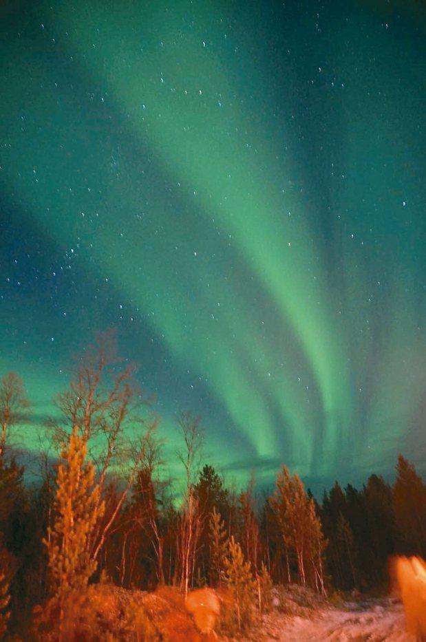 俄羅斯的克拉半島,更靠北,也非常容易看到極光。 圖/百威提供