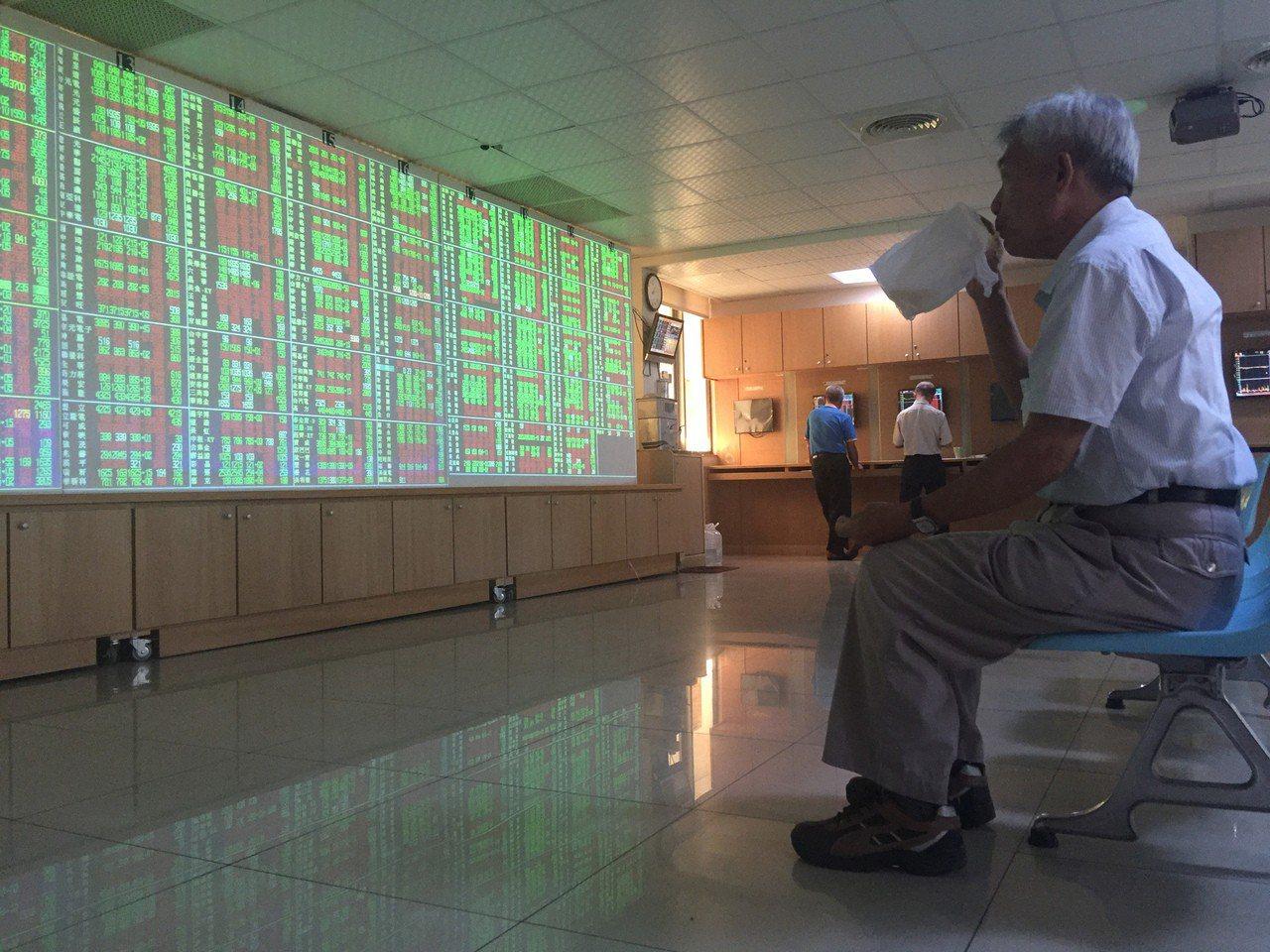 今(27)日台股開高走低,終場大跌103點、以10,750點收市。 中央社