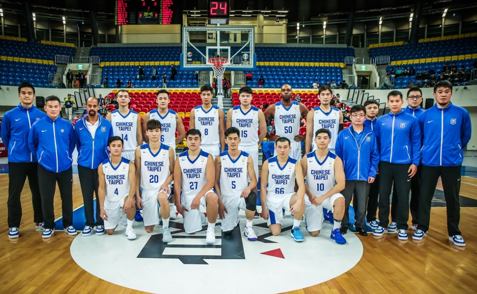 中華男籃隊。 擷圖自FIBA Asia官網