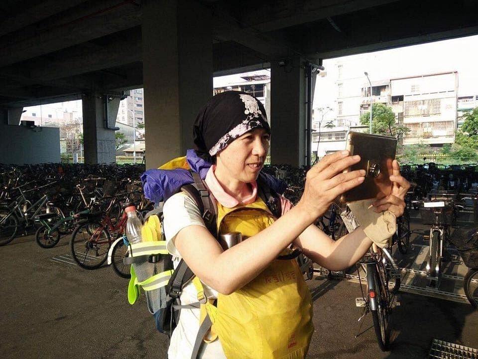 寇延丁讓台灣看到一個熱情執著的中國公益人形象。 圖/寇延丁臉書