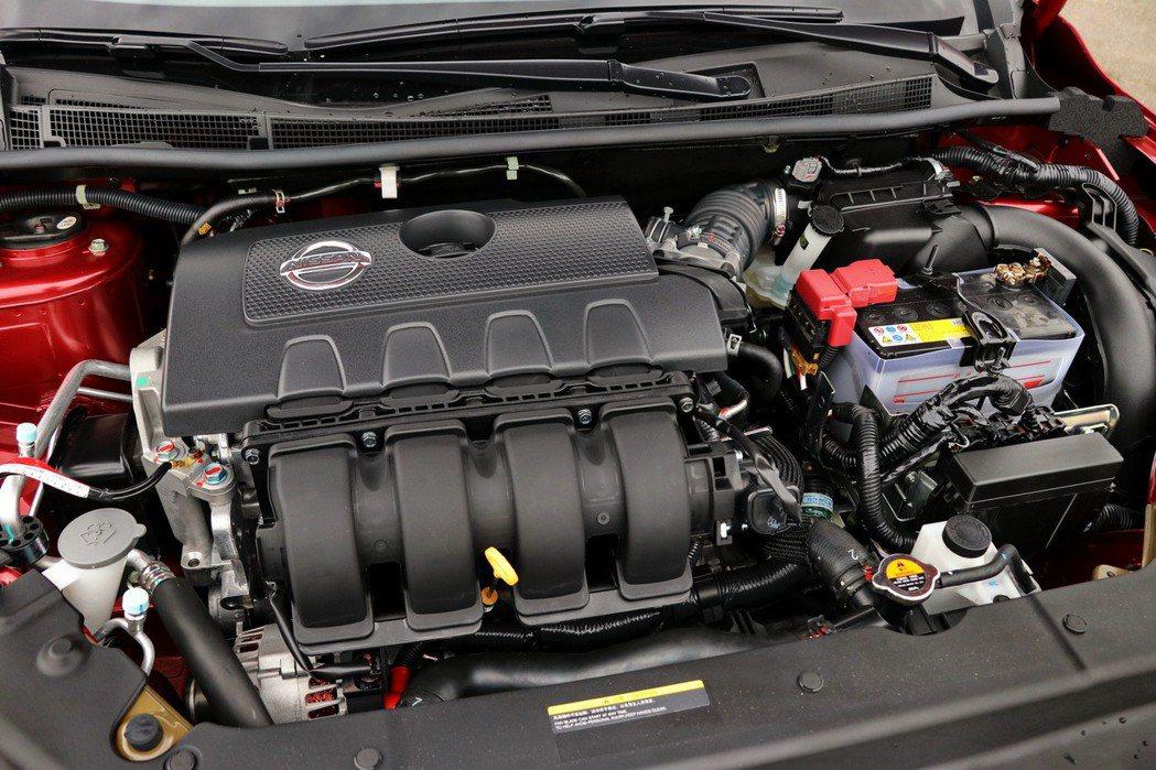 沿用了之前的1.8L自然進氣引擎,動力表現維持131hp/17.8kgm。 記者陳威任/攝影