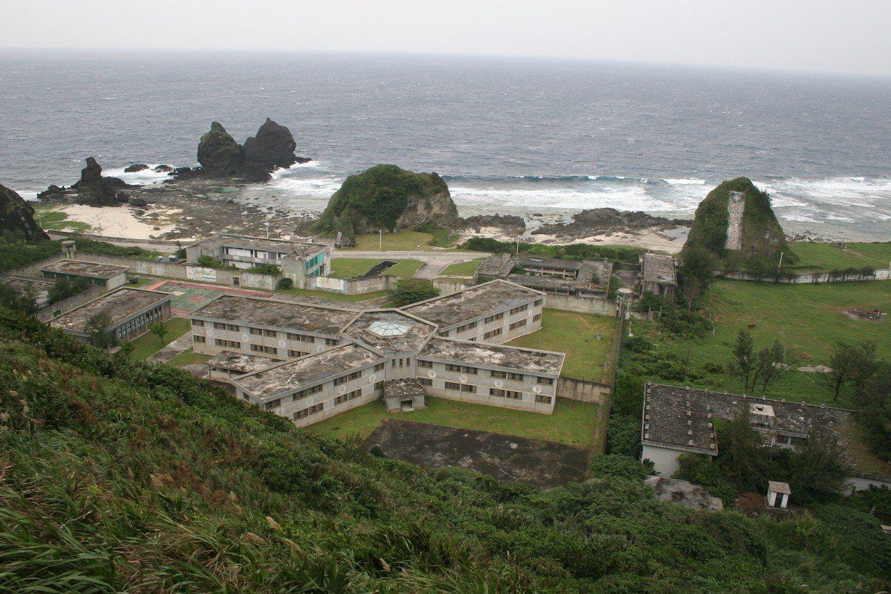 綠島感訓監獄之「八卦樓」(1972-1987),有著「綠島山莊」的別名。(臺灣遊...