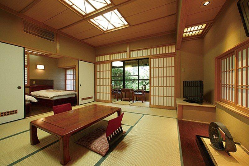 獨棟客房皆為和洋室,寬敞空間非常適合家族旅行。