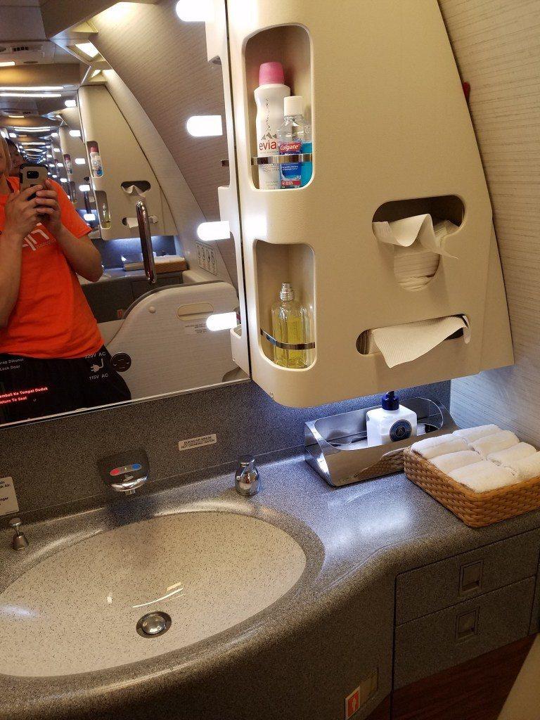 廁所洗手台一覽。圖文來自於:TripPlus