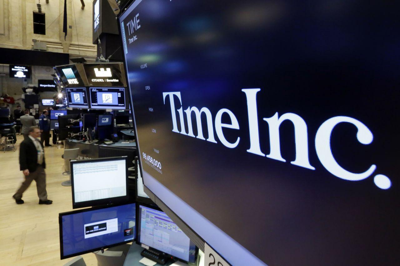 Time旗下《時代》雜誌是全球發行最大的周刊。(美聯社)