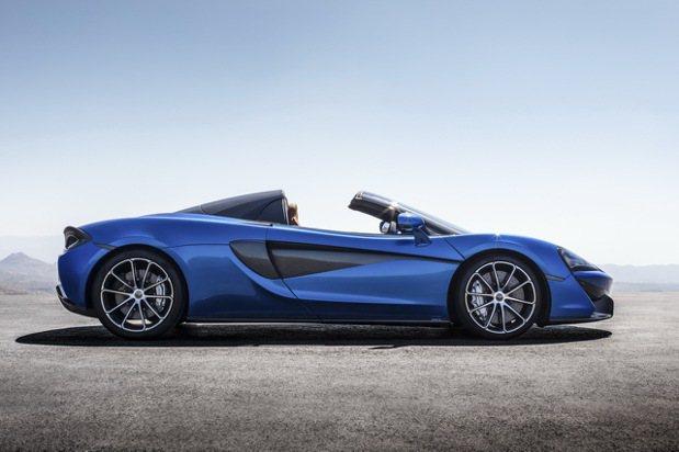 雙座後驅設定的570S Spider將McLaren Sports Series...