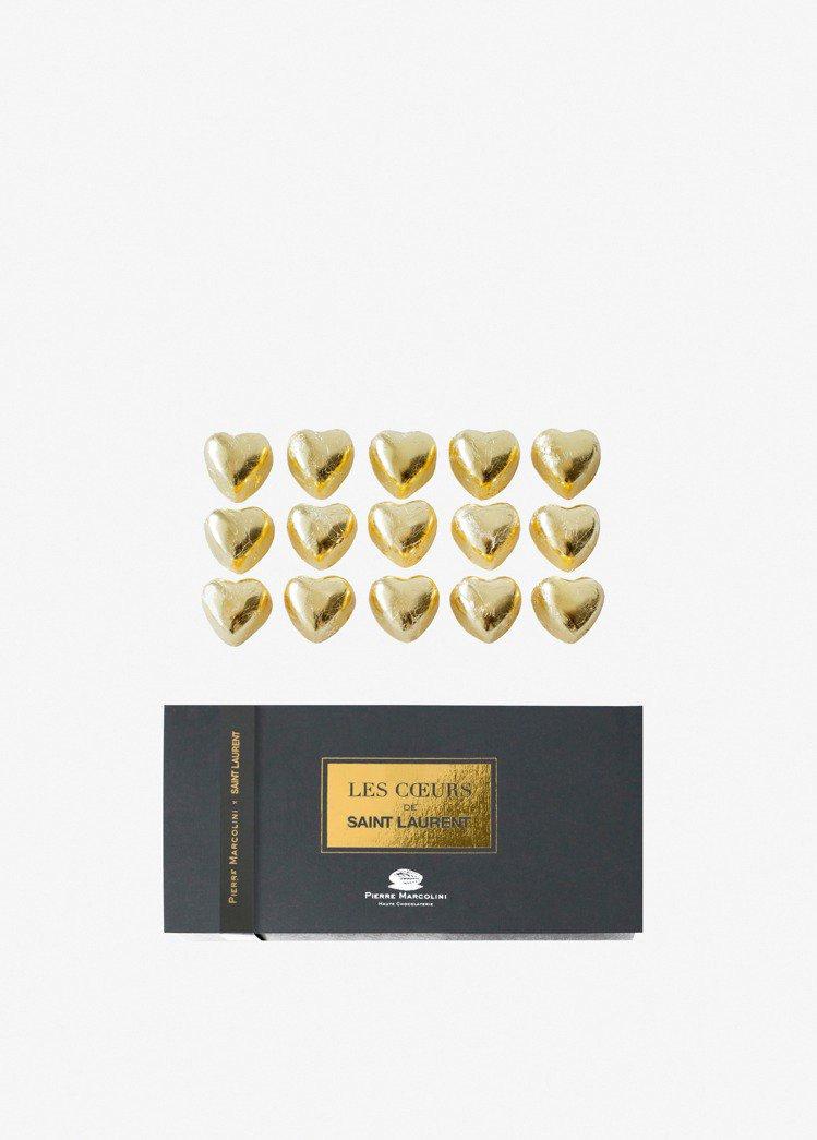 Saint Laurent x Colette聯名巧克力。圖/Saint Lau...