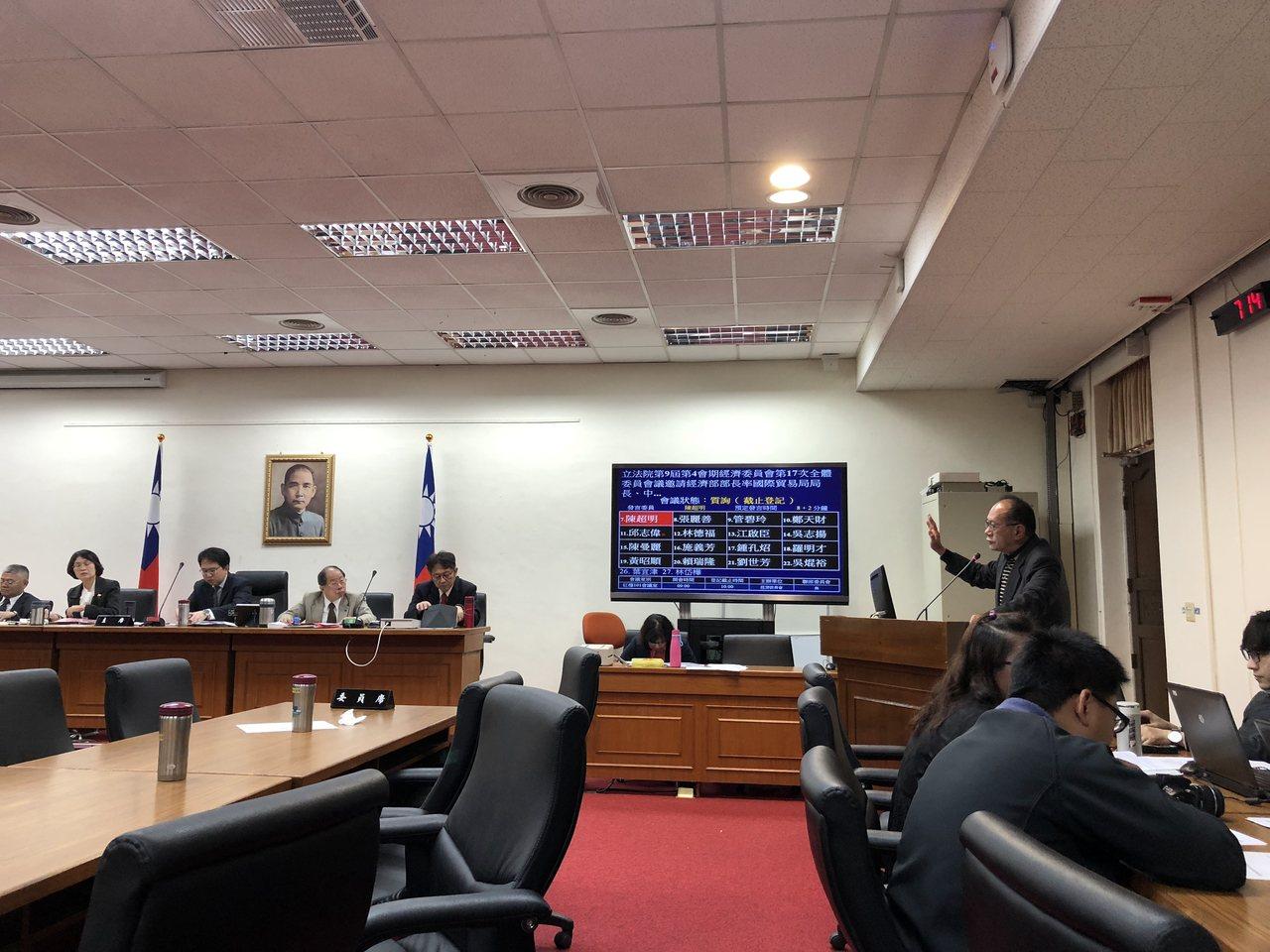 今天經濟部到立法院報告新南向成果與加入CPTPP的戰略規劃,立委也關心ODA問題...